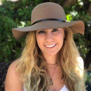 Women's Floppy Faux Suede Hat - NWT